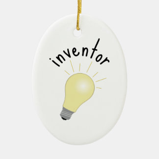 Inventor Christmas Ornament