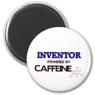 Inventor Powered by caffeine Refrigerator Magnet