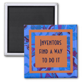 Inventors find a way to do it fridge magnets