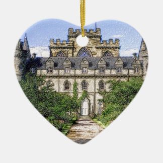 Inveraray Castle Christmas Ornament