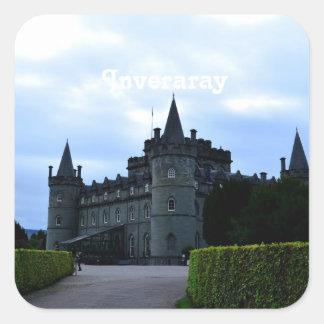 Inveraray Castle in Argyll Stickers