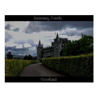 Inveraray Castle in the Evening Postcard