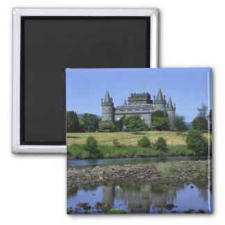 Inverary Castle Strathclyde Scotland Magnet