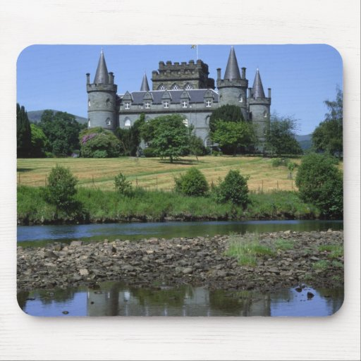 Inverary Castle, Strathclyde, Scotland Mouse Pads