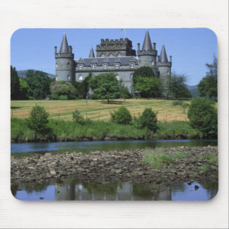 Inverary Castle Strathclyde Scotland Mouse Pads