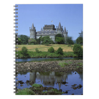 Inverary Castle, Strathclyde, Scotland Notebook