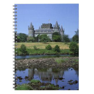 Inverary Castle, Strathclyde, Scotland Notebooks