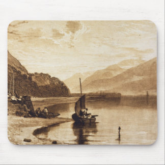 Inverary Pier, 1859-61 (engraving) Mouse Mat
