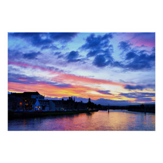 INVERNESS SUNSET POSTER