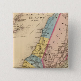 Inverness, Victoria counties, NS 15 Cm Square Badge