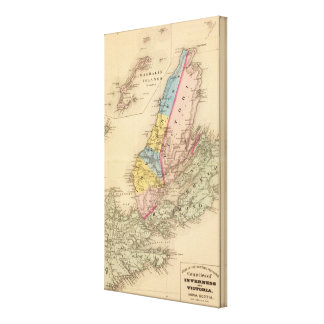 Inverness, Victoria counties, NS Canvas Print