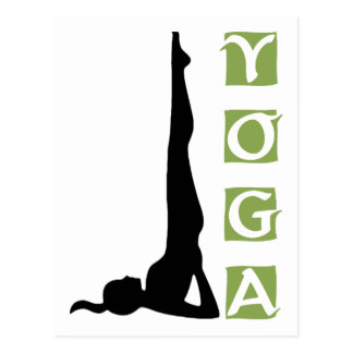 Inversion Yoga Pose Gift Postcards