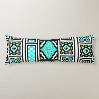 Invert Mirrored Mosaic Body Cushion
