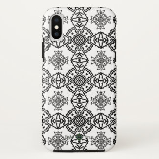 Invert Mosaic Cross Wallpaper iPhone X Case