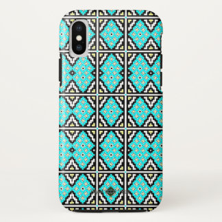 Invert Mosaic Wallpaper ( Large ) iPhone X Case