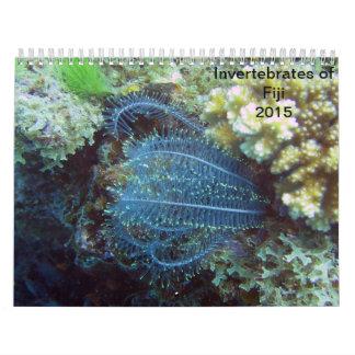 Invertebrates of Fiji 2015 Calender Calendar