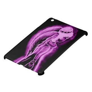 Inverted Angel in Black and Pink Cover For The iPad Mini