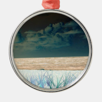inverted beach sky neat abstract florida shore christmas tree ornaments