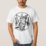 Inverted Cross & Pentacle Kitten Shirts