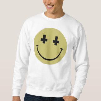 Inverted Cross Smiley Sweatshirt