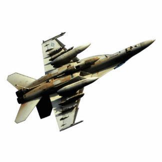 Inverted F-18 Hornet Cutout Acrylic Cut Outs