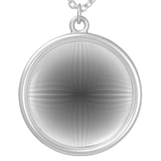 Inverted Fractal Snowball Necklace