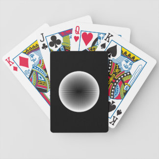 Inverted Fractal Snowball   Playing Cards
