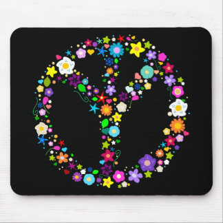 Inverted Peace Sign - as its inventor wanted Mouse Pad