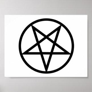 Inverted Pentagram poster