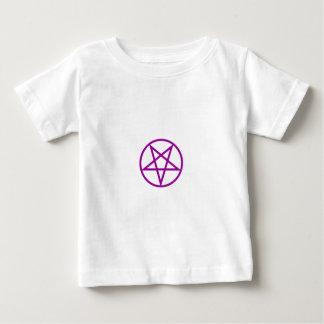 Inverted Purple Pentagram Gear Tshirt