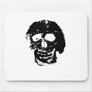 inverted skull 1 mouse pads