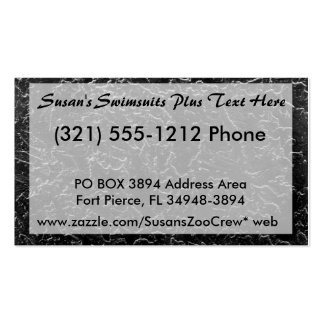 Inverted Stucco Black and White wall picture Pack Of Standard Business Cards