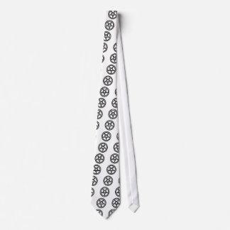 invertedpentagram,w necktie