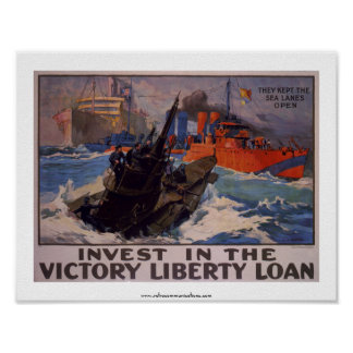 Invest in the Victory Loan Poster