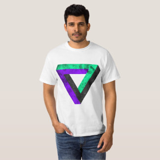 Invested infinite triangle. With fire T-Shirt