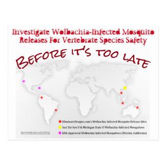 Investigate Wolbachia Postcard by RoseWrites