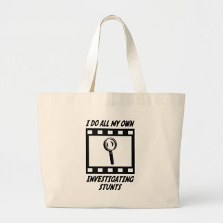 Investigating Stunts Canvas Bag