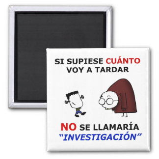 Investigation and estimations magnet