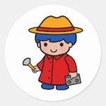 Investigator Boy Sticker