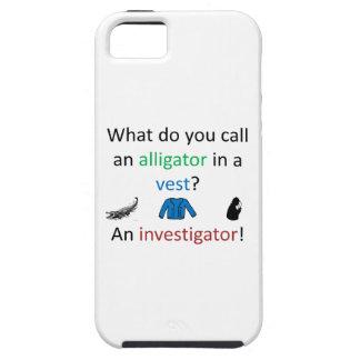 Investigator Joke iPhone 5 Cover