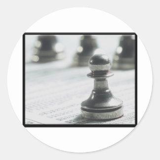 Investing Beginners Round Sticker