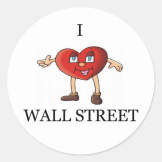 investing joke round sticker