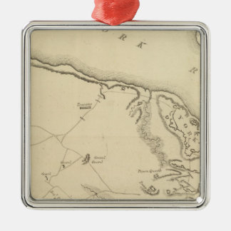 Investment and Attack of York in Virginia 2 Christmas Ornament