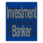 Investment Banker Extraordinaire Poster