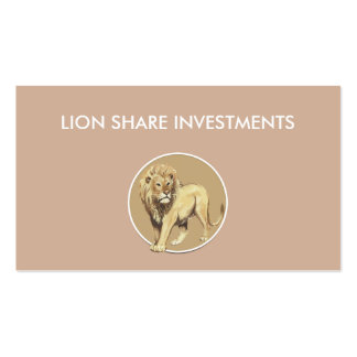 Investment Broker Business Cards
