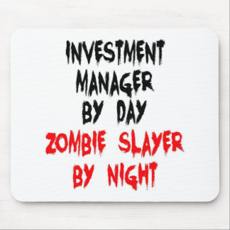 Investment Manager Zombie Slayer Mouse Mat