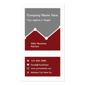 Investment Services Business Card