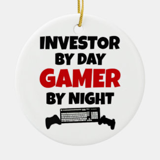 Investor Gamer Christmas Ornament