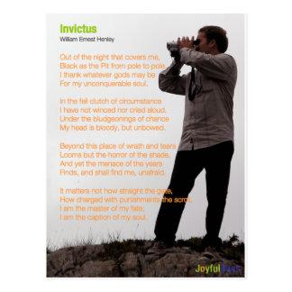 Invictus Postcard
