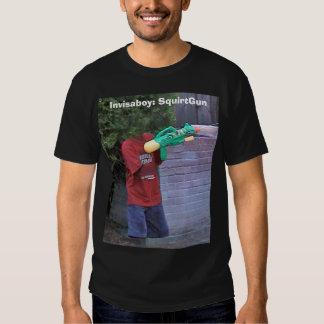 Invisaboy: SquirtGun Tshirt